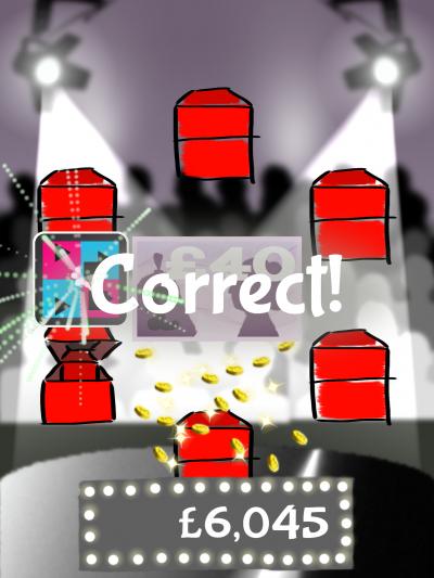 영국 케임브리지대 연구진이 개발한 두뇌게임 애플리케이션(앱) '게임 쇼'. 화면 상의 서로 다른 위치에 나타난 다양한 기하학 패턴을 기억하는 게임이다. 이 게임을 한 치매초기 환자들은 일화기억 등 기억력이 40%가량 향상됐다. - 케임브리지대 제공